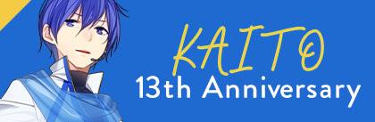 KAITO 13th Anniversary